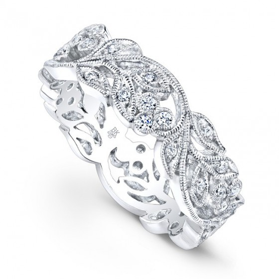 Beverly K Diamond Wedding Band