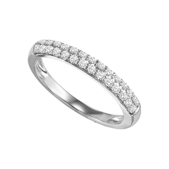 14K Diamond 1/3 ctw Matching Band