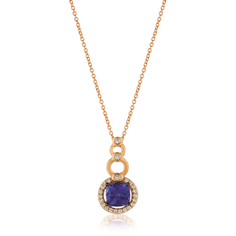with chocolate ring vian diamonds vanilla tw in le and strawberry blueberry tanzanite gold