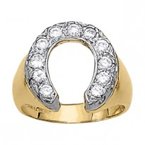 GENTS RING HORSESHOE & NOVELTY