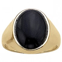 GENTS RING ONYX