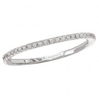 Micro-Set Diamond Wedding Band