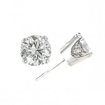 14KW LOW PRICE POINT RD DIA   STUD EARRINGS  D1/4CTW