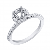 Halo Collection Diamond Engagement Ring