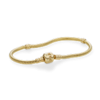 14K Pandora Clasp Bracelet and Chain