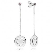 Pandora Pure Love Drop Earrings