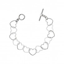 ELLE Sterling Silver 7.5 in. Bracelet
