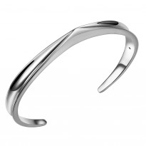 ELLE Sterling Silver 7.25 in. Cuff