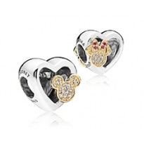 Disney, Mickey & Minnie Love Icons Charm