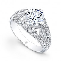 Beverly K Diamond Engagement Ring