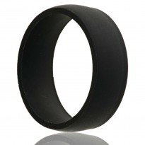 Black Silicone Wedding Band