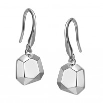 ELLE Sterling Silver Eurowire Earrings