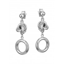 ELLE Sterling Silver Post Earrings