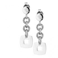 Frederic Duclos Glimmer and Square Earrings