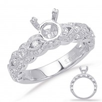 White Gold Diamond Bridal Set