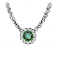 14K Mixable Pendant - Emerald (May)