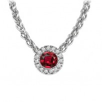 14K Mixable Pendant - Ruby (July)