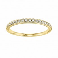 Mixables 14 Karat Yellow Gold Diamond Ring