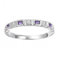 10K Mixable Ring - AMETHYST