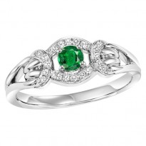 14K Emerald Ring (Matching Earrings & Pendant Available)