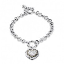 Effy Diamond Heart Bracelet