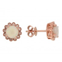 Effy Opal and Diamond Earrings