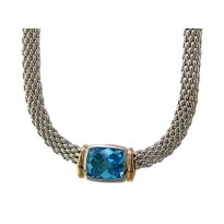 Effy Blue Topaz Necklace