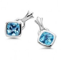 Colore Blue Topaz Earrings
