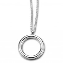 ELLE Sterling Silver 24 in. + 2 in. Necklace