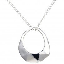ELLE Sterling Silver 30 in. + 2 in. Necklace