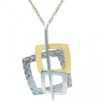 Frederic Duclos 3 Square Necklace