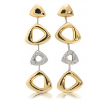 18K TT TRIANGLE EAR D.54