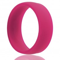 Pink Silicone Wedding Band