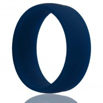 Royal Blue Silicone Wedding Band