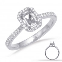 Halo Collection Diamond Bridal Set