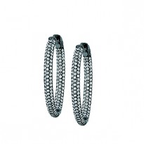 49MM OVAL PAVE INSIDE OUT