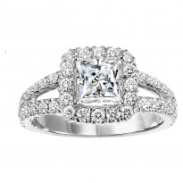 14K Diamond  1 1/7 ctw Engagement Ring