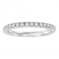 14K Diamond 1/4 ctw Matching Band