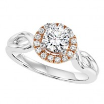 14K Diamond 1/10 ctw Engagement Ring