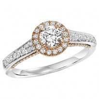 14K Diamond 1/3 ctw Engagement Ring