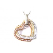 Effy Diamond Heart Necklace