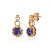Le Vian Tanzanite and and Diamond Earrings