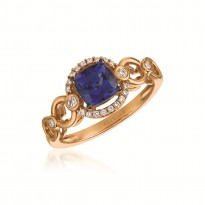Le Vian Tanzanite and Chocolate Diamond Ring