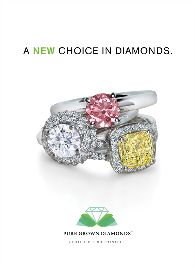Click Here To View Pure Grown Diamonds